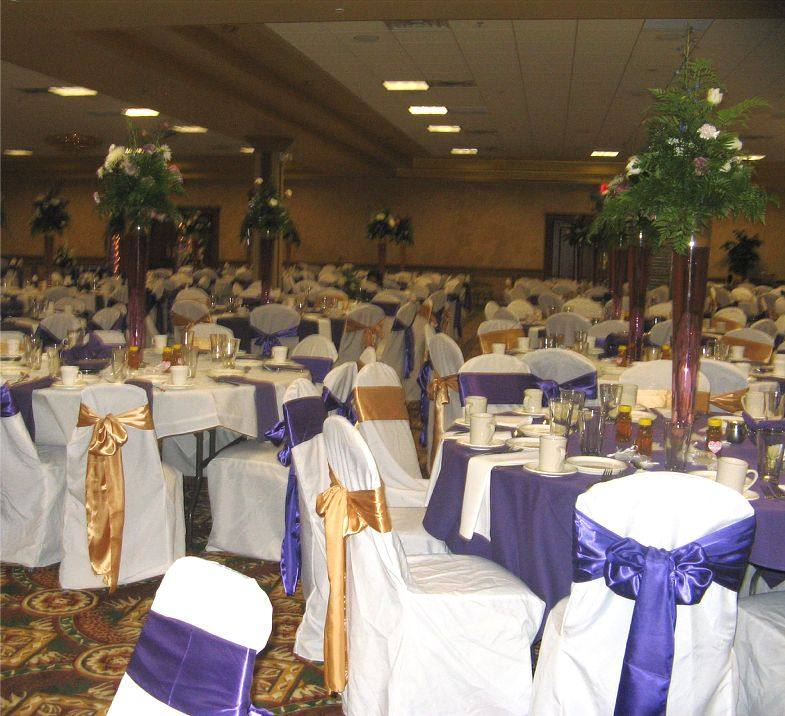 Purple And Gold Centerpieces For Weddings Images - Wedding ...