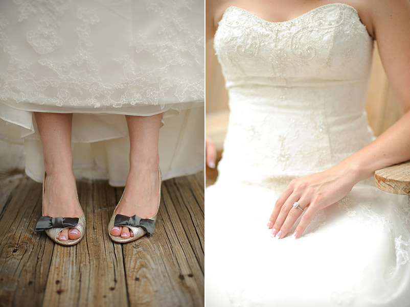 Shoes To Wear With Lace Wedding Dress