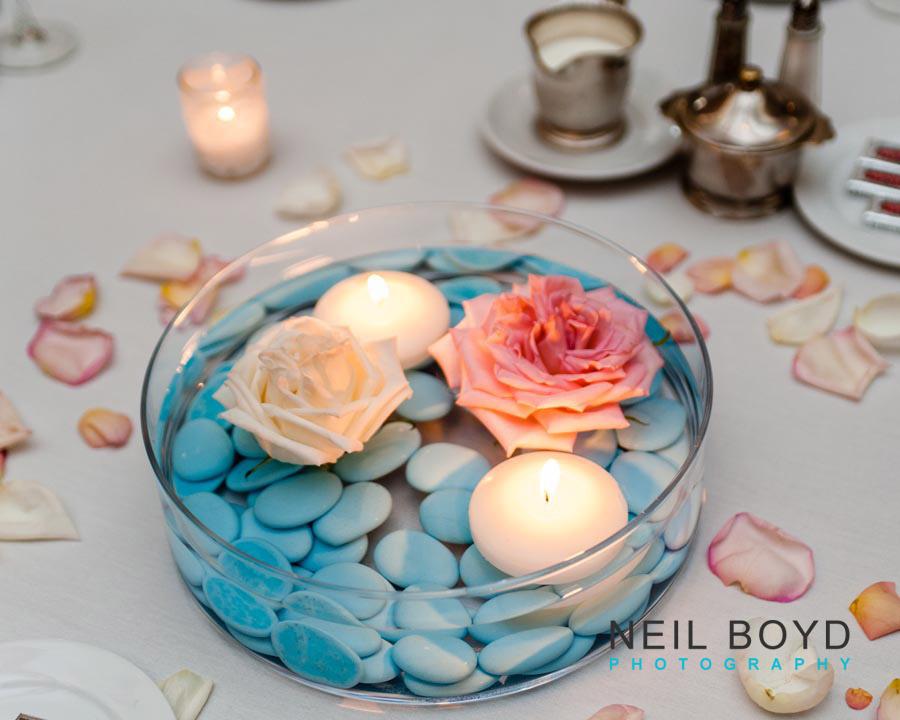 Light Blue Wedding Decorations