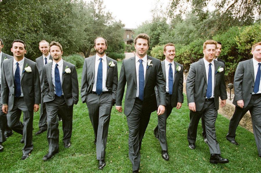 Charcoal Gray Suit Wedding | Wedding Tips and Inspiration