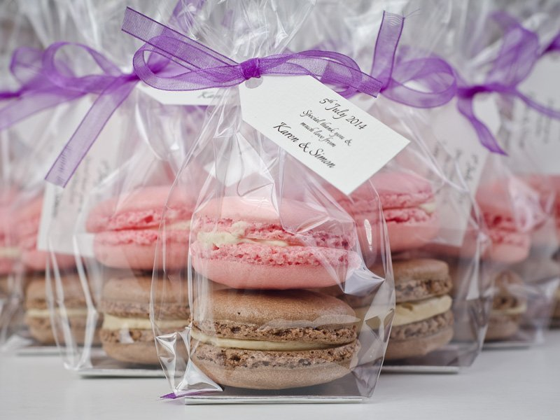 Macaroon Wedding Favor