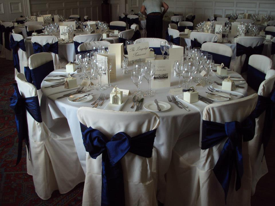 Wedding decorations navy blue marvellous navy blue wedding table decorations navy blue wedding junglespirit Images