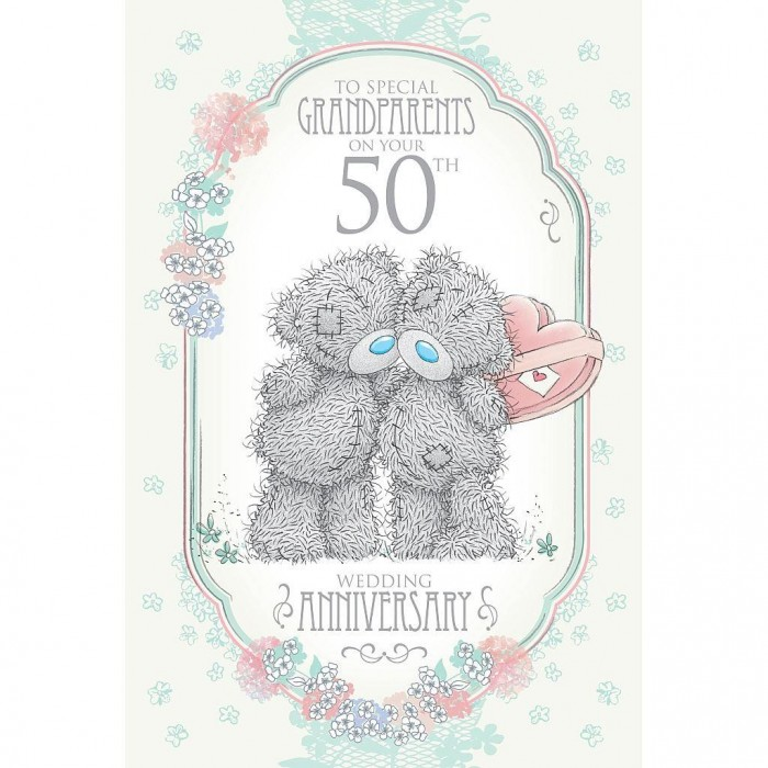 Gifts For Grandparents 50th Wedding Anniversary: 50th Wedding Anniversary Cards For Grandparents