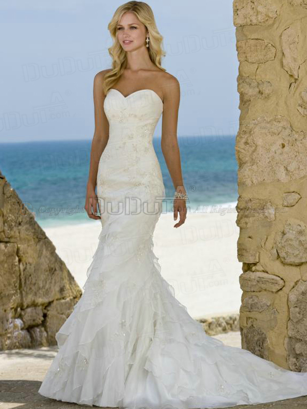 Best Trumpet Sweetheart Wedding Dress Images - Styles & Ideas 2018 ...