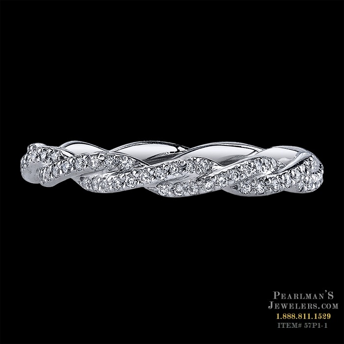 Infinity wedding band for Michael b jewelry death