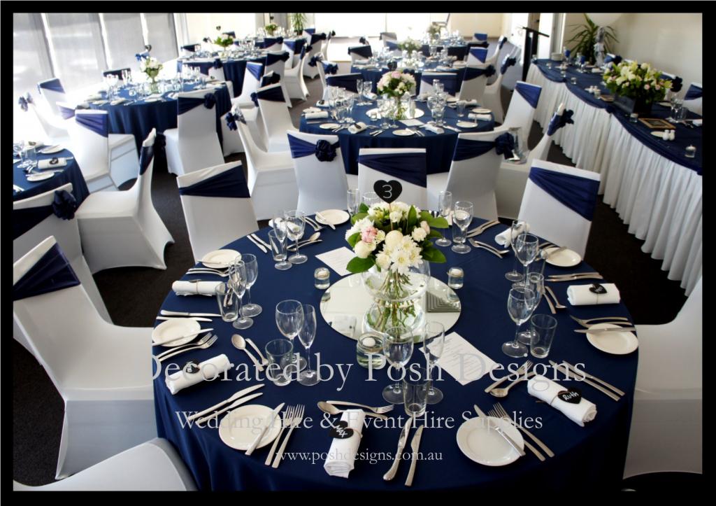 Navy Blue And Silver Wedding Decorations Emasscraftorg