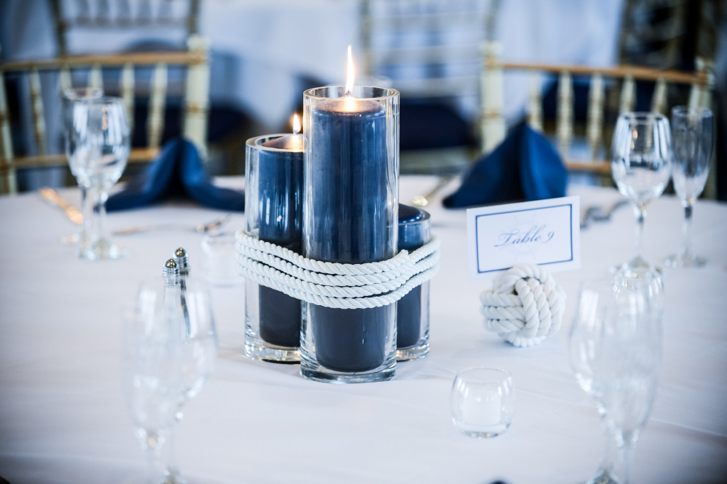 Wedding Decorations Navy Blue