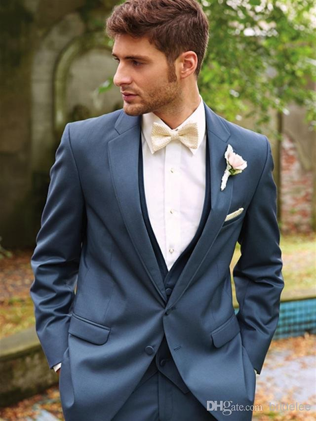 Emejing Blue Wedding Suits For Groom Images - Styles & Ideas 2018 ...