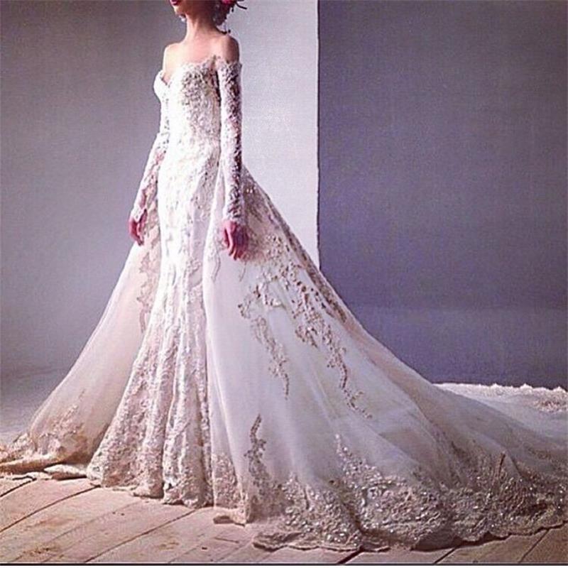 Dress With Detachable Train: Wedding Dress Removable Train