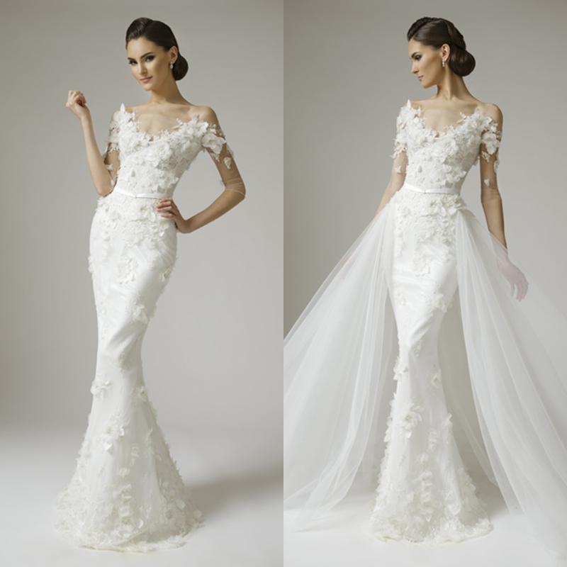 Detachable Wedding Gown: Detachable Wedding Dress Sleeves