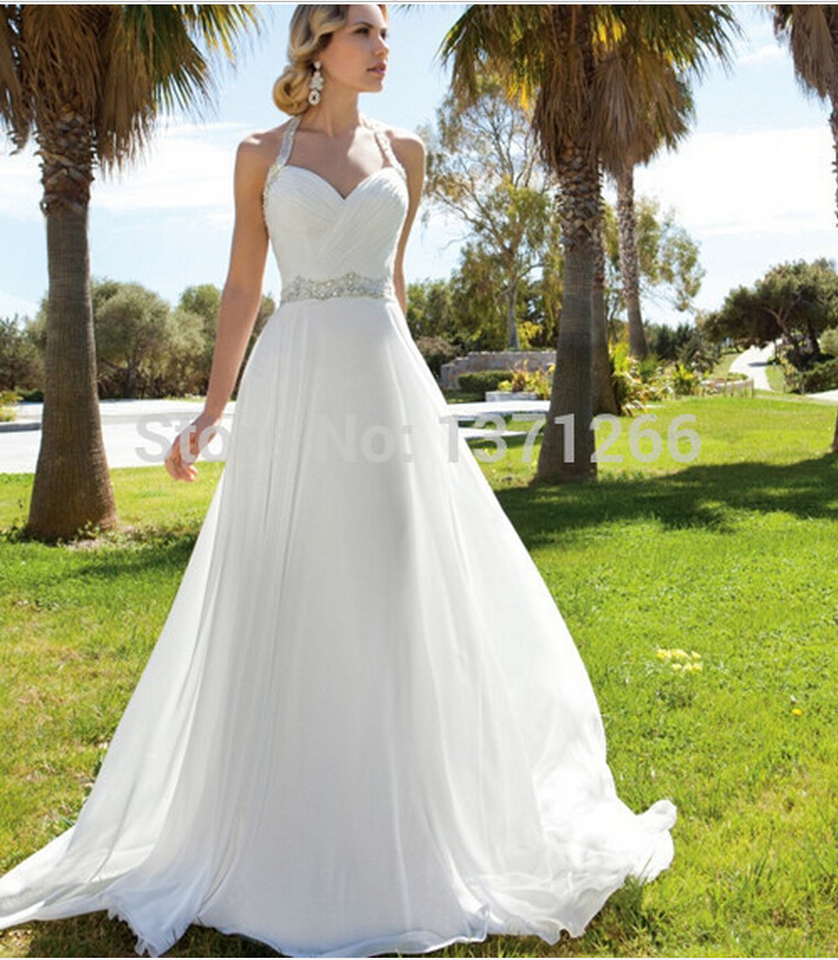 Wedding Dresses With Halter Top: Populaire Jurken Uit De Hele Wereld