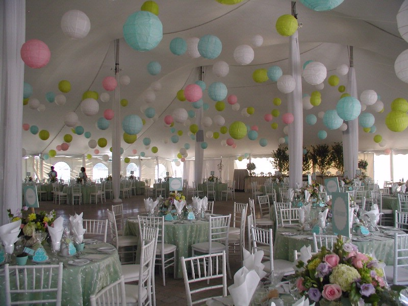 Paper Lanterns Wedding Decoration Ideas