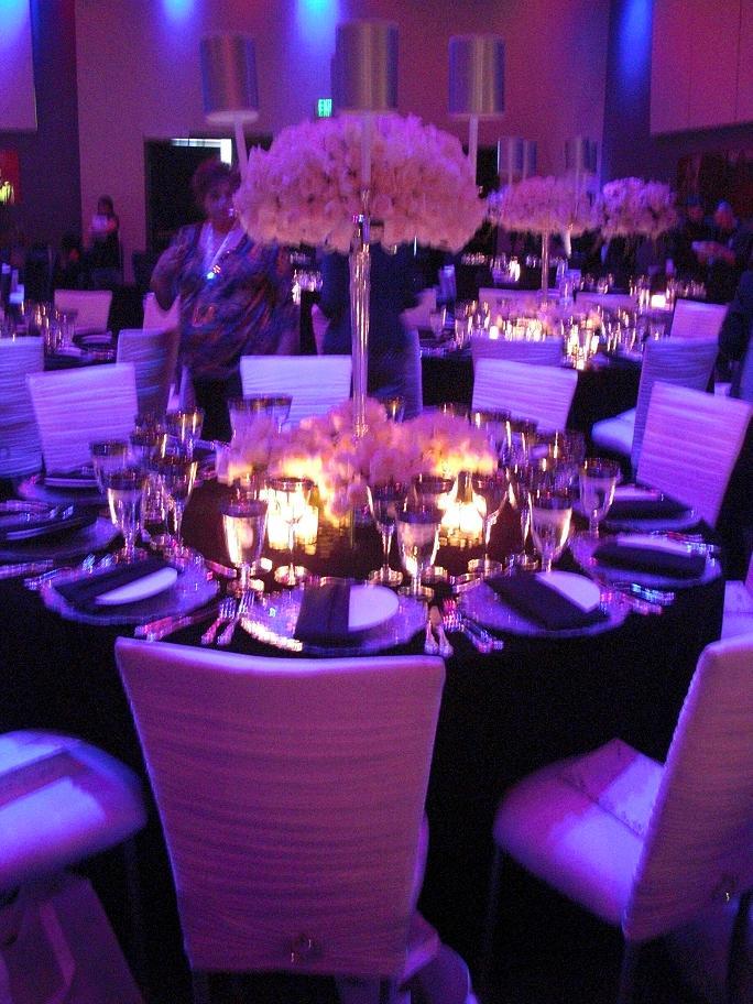 Purple Wedding Decor Vibrant And Fuchsia Fl With
