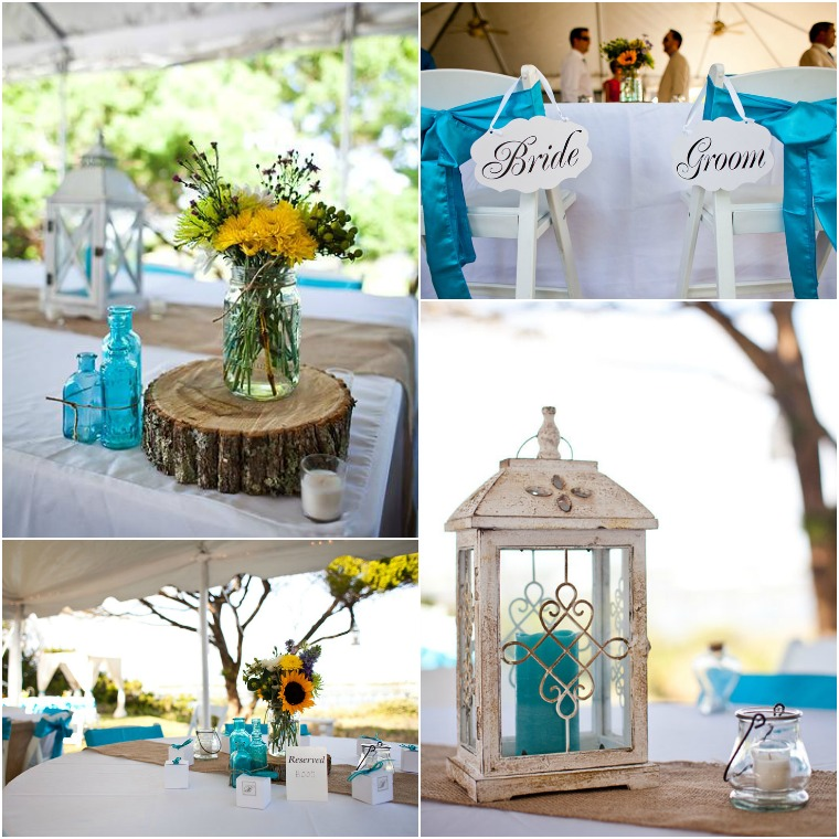 Rustic beach theme wedding junglespirit Choice Image