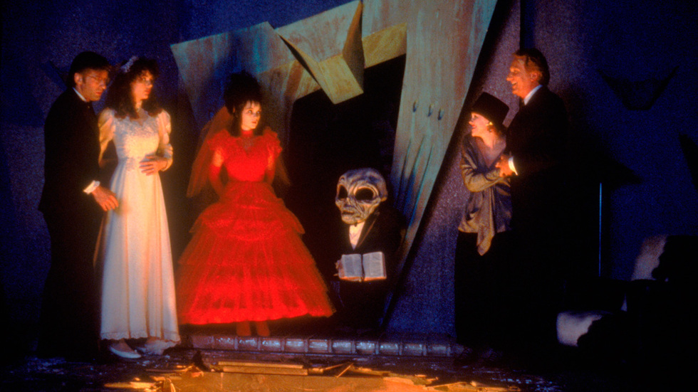 Beetlejuice Wedding Dress
