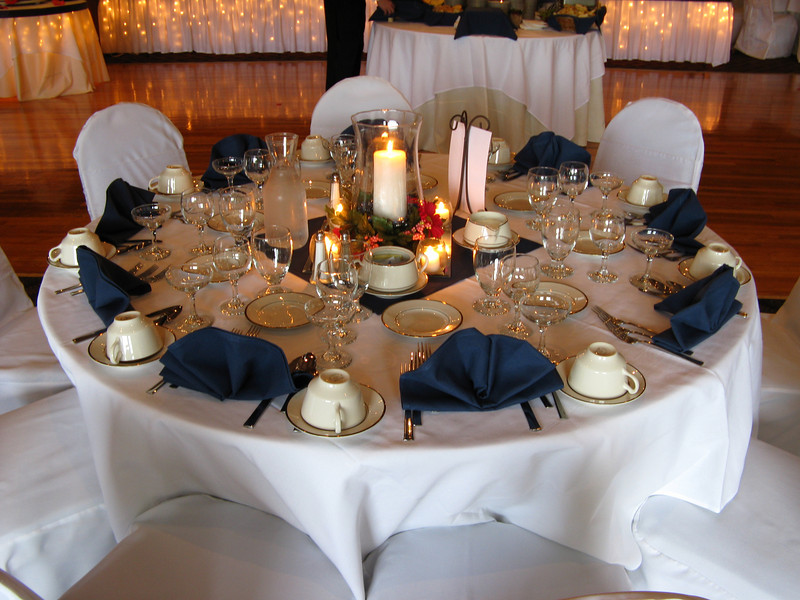 Red White And Navy Blue Wedding Reception Ideas