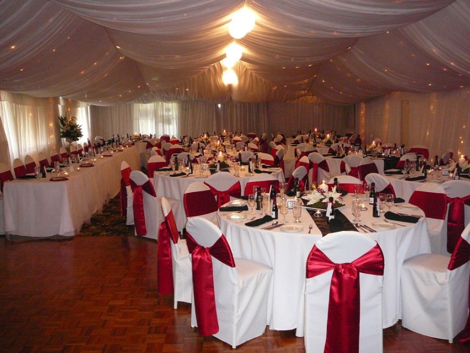 Awesome Red And Silver Wedding Decorations Contemporary Styles