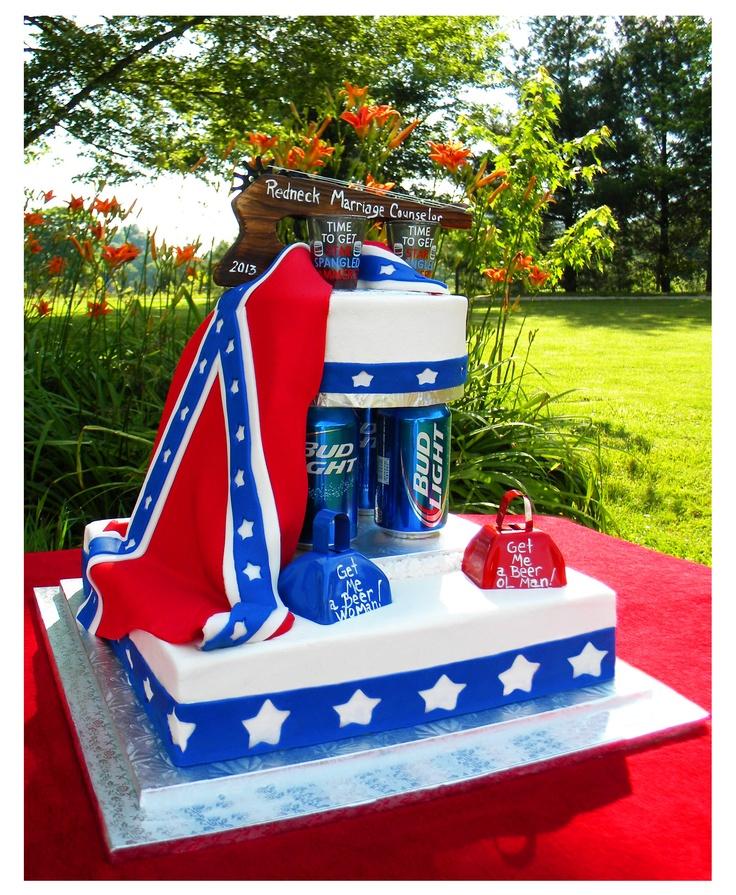 Truck Wedding Cake Ideas