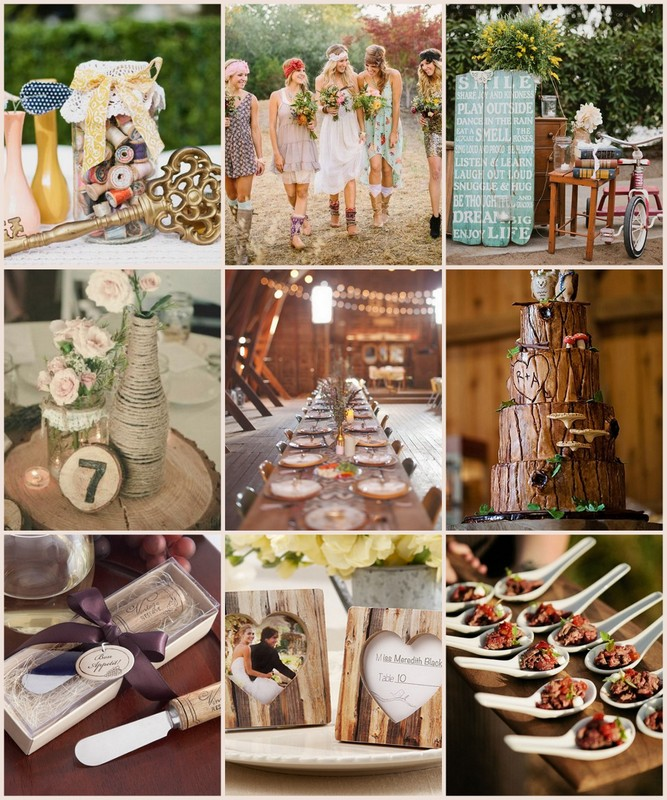 Pinterest wedding decorations rustic gallery wedding dress pinterest wedding decorations rustic junglespirit Image collections