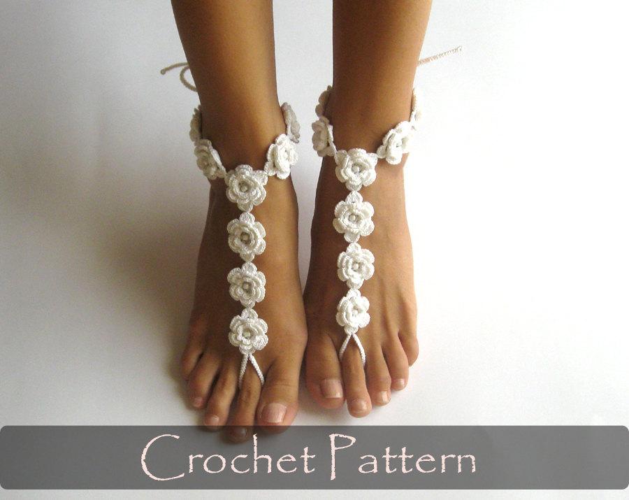 Wedding Sandals Sandals Barefoot Pattern Sandals Wedding Barefoot Wedding Barefoot Pattern hxsQtdCr