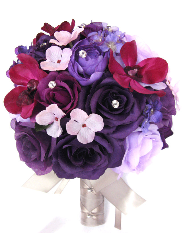 Sangria Wedding Bouquets