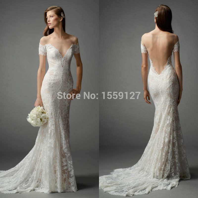Scalloped Back Wedding Dress Emasscraft Org