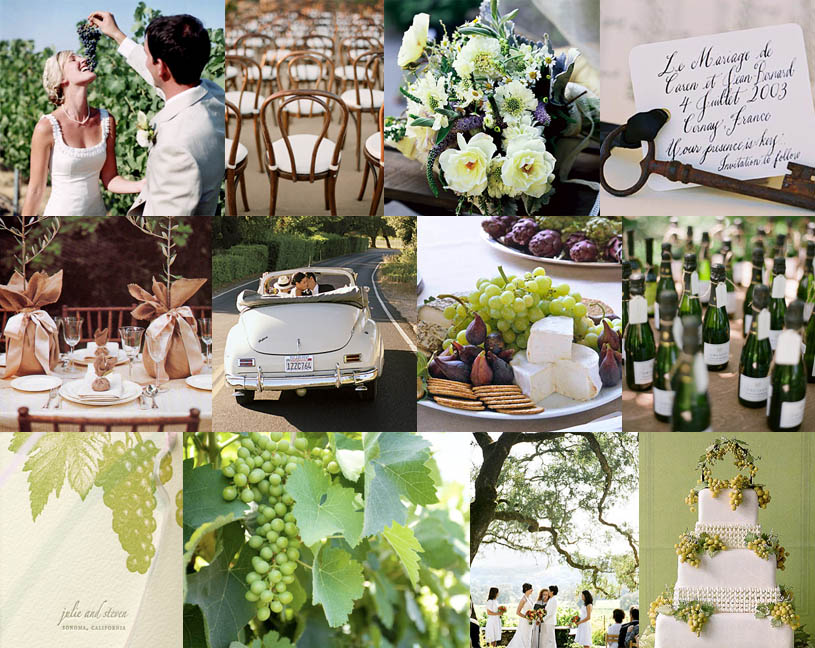 Wine wedding theme ideas showing post media for winery wedding decorating ideas junglespirit Gallery