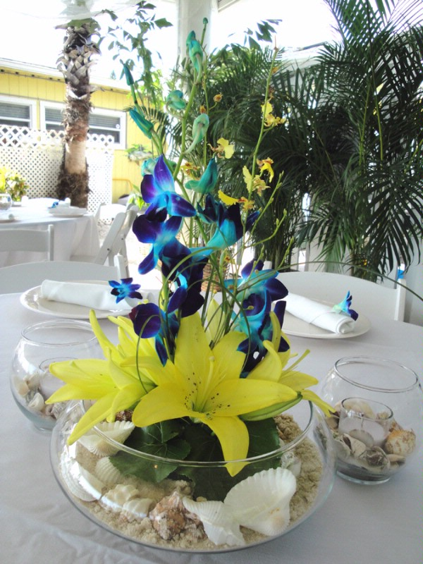 Yellow and blue wedding centerpieces image collections wedding similiar blue and yellow wedding centerpieces keywords emasscraft junglespirit Images