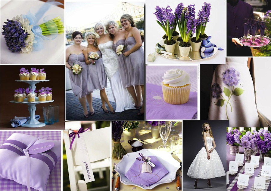 Purple lavender wedding theme junglespirit Gallery