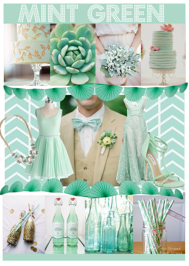 Similiar Peach And Mint Green Wedding Idea Keywords