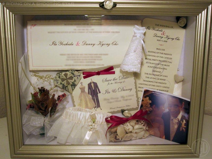 Wedding shadow boxes for Wedding dress shadow box