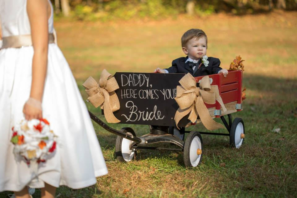 Wedding Wagon For Ring Bearer