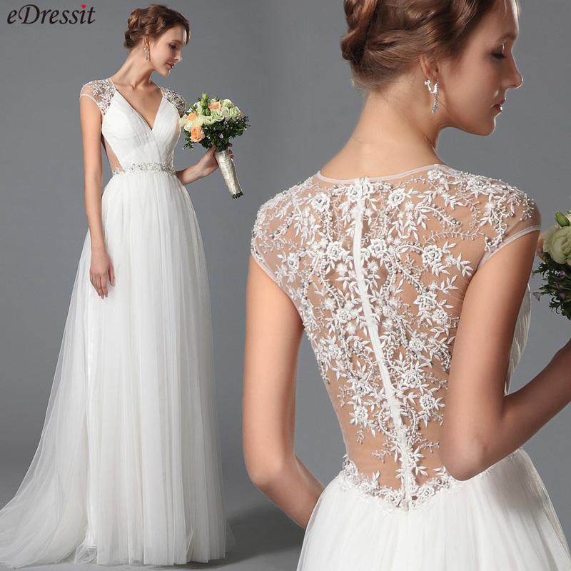 Simple Wedding Dresses: Simple Lace Wedding Dress