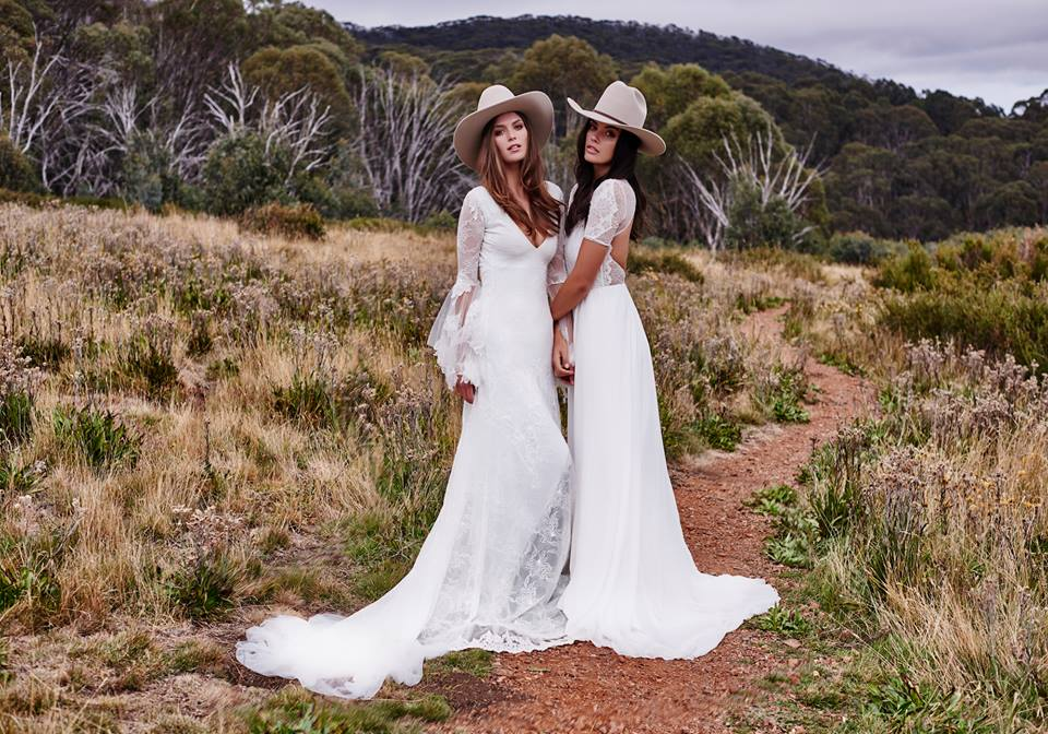 Outdoor Country Wedding Dress