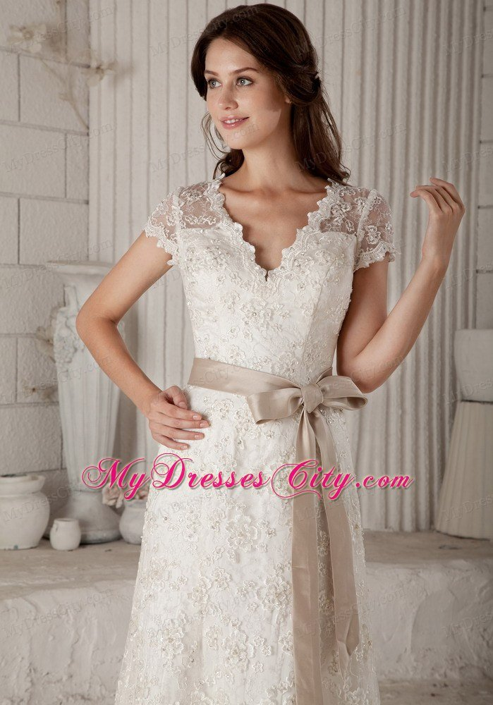 Simple off white wedding dress for White simple wedding dress