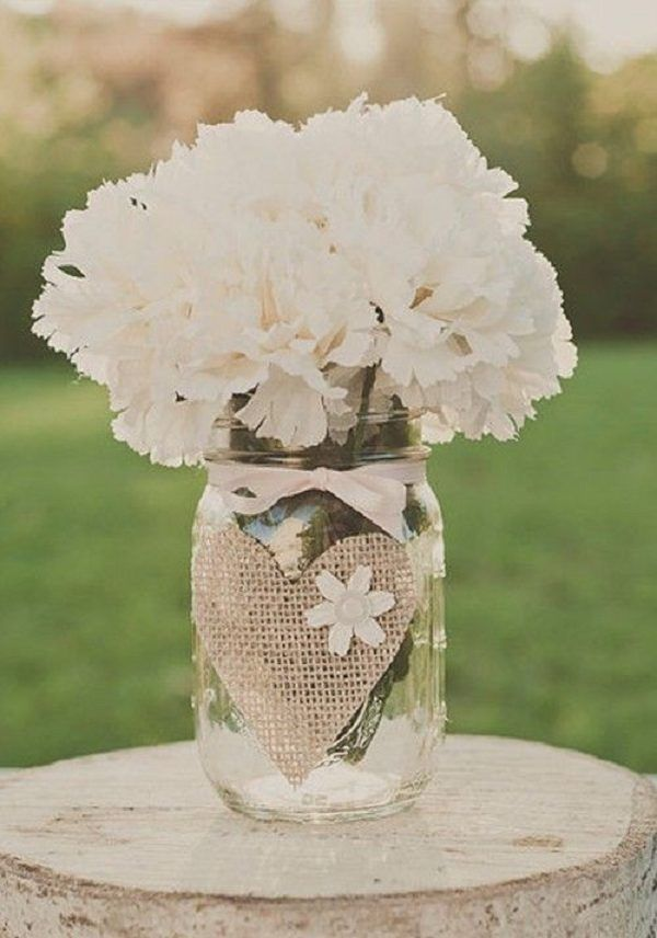 Top 25 Ideas About Burlap Wedding Centerpieces On Emasscraft Org