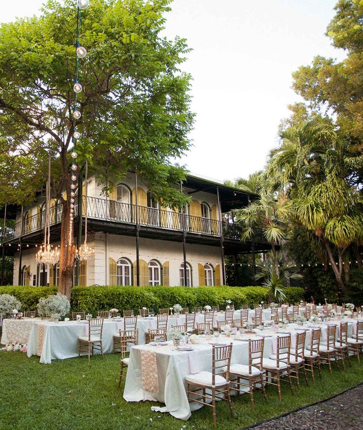 Key West Wedding Ideas: Outdoor Wedding Venues Near Me