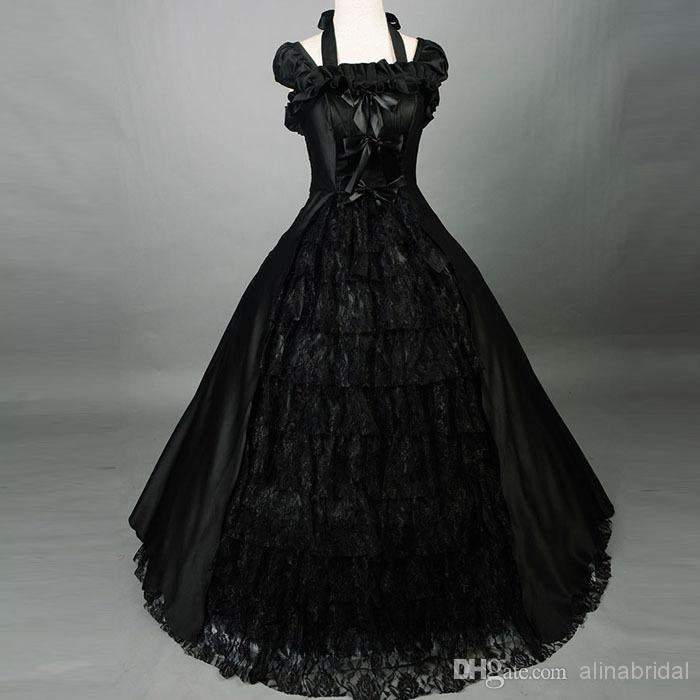 Black Wedding Dress Halloween Costume