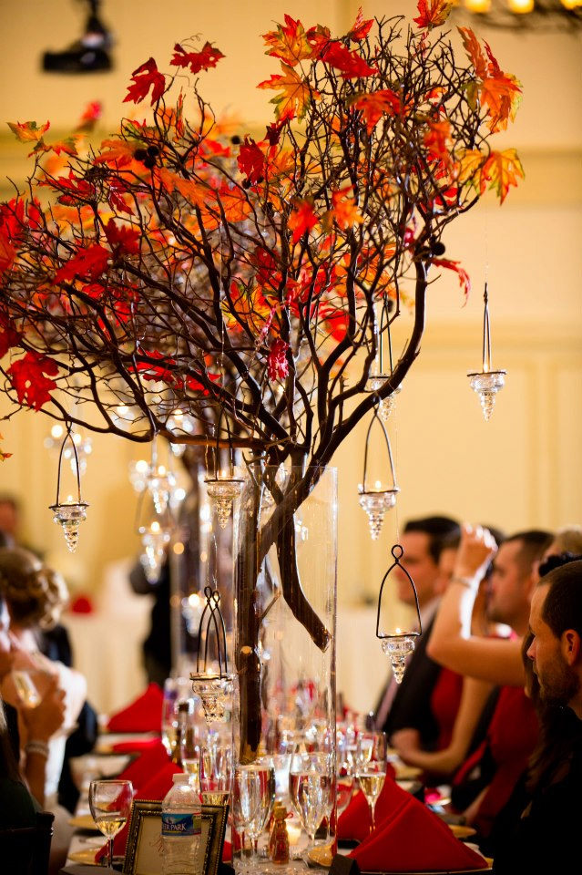 Fall wedding centerpieces ideas