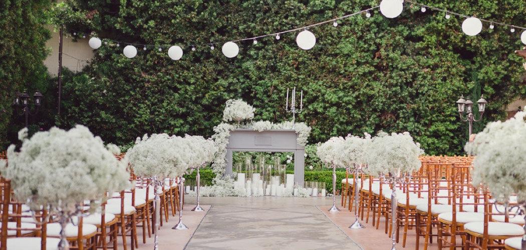 Wedding ceremony decoration ideas junglespirit Image collections
