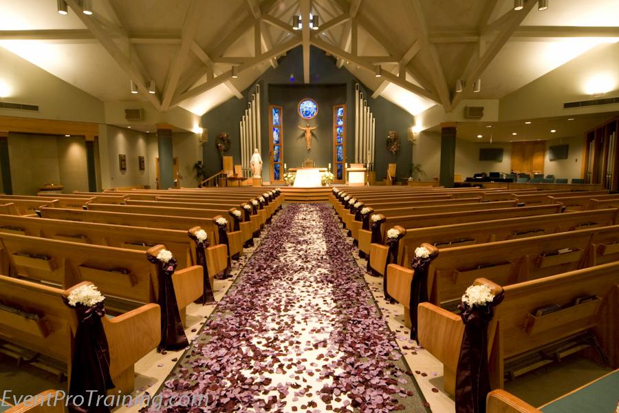 Church Decorations Wedding Ceremony