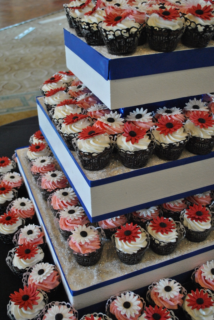 Wedding Cupcake Towers By The Cake Zone