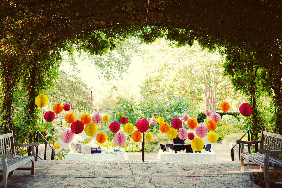 Decorating for an outdoor wedding wedding decor outside wedding decorations with bold colors junglespirit Images