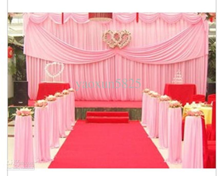 Wedding backdrop curtains for Backdrop decoration for wedding