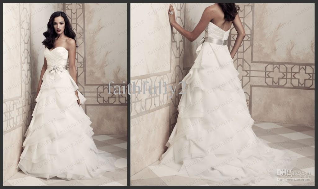 Images of wedding dresses with ruffles