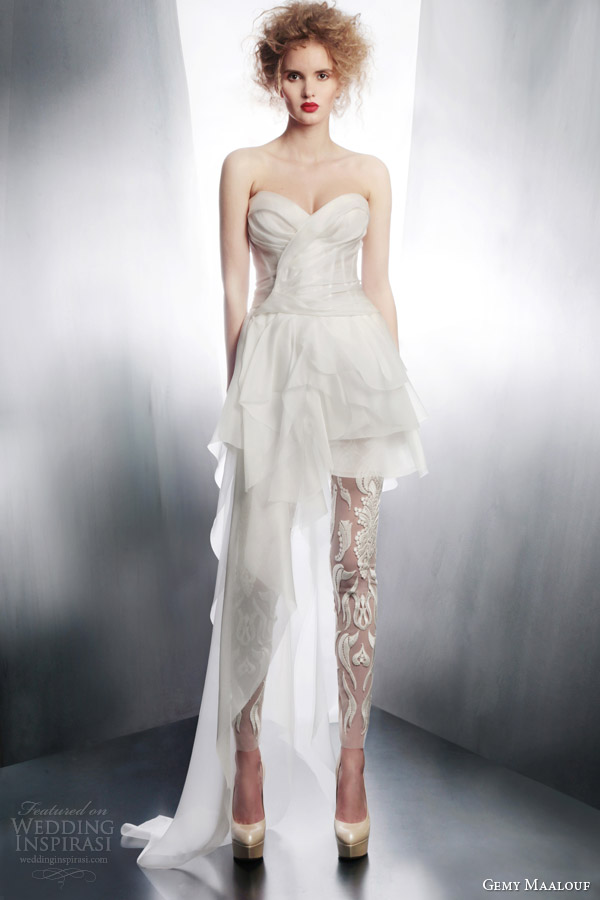 wedding dress with pants