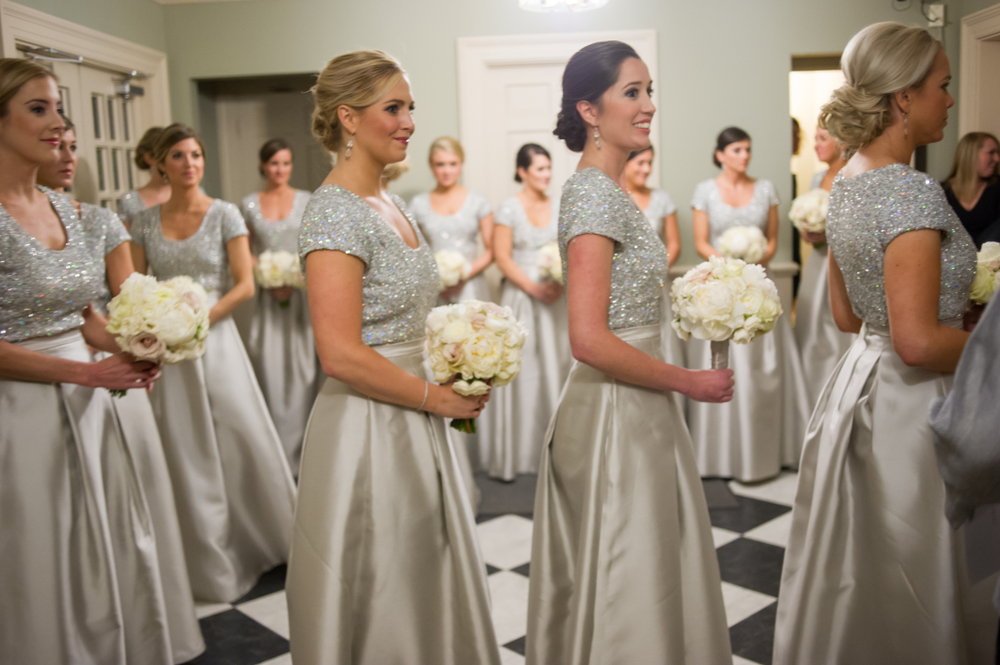 Winter Wedding Bridesmaid Dress