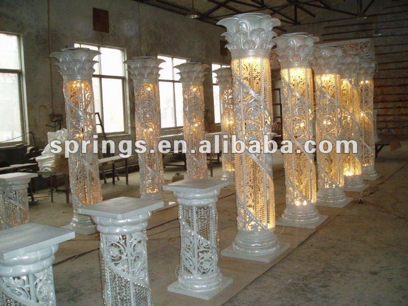 Wedding Column Decoration Ideas