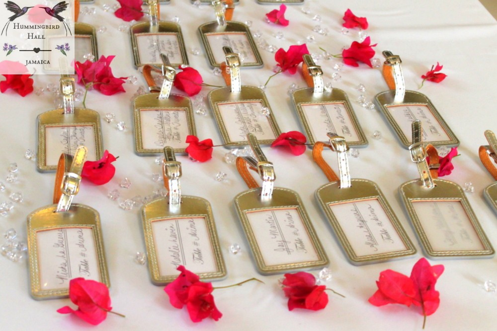 Weddings Hummingbird Hall Jamaica Fuchsia Bling Wedding Favors 17 Best Ideas About Destination