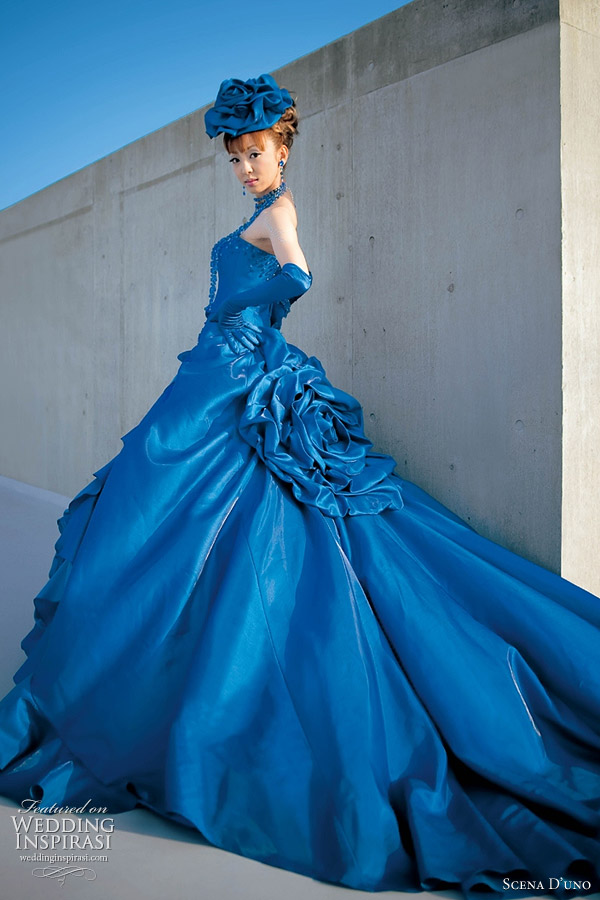 Awesome Wedding Dresses In Blue Contemporary - Styles & Ideas 2018 ...